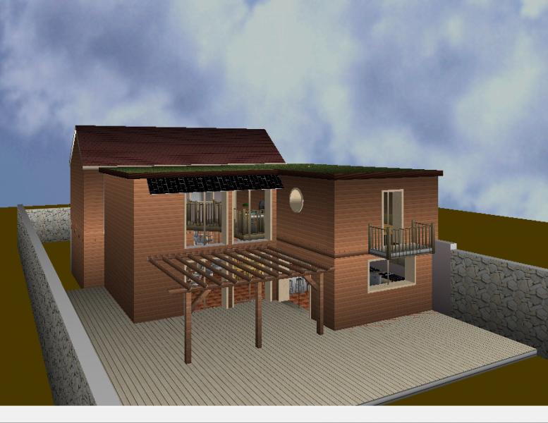 l extension ossature bois en auto construction. Black Bedroom Furniture Sets. Home Design Ideas